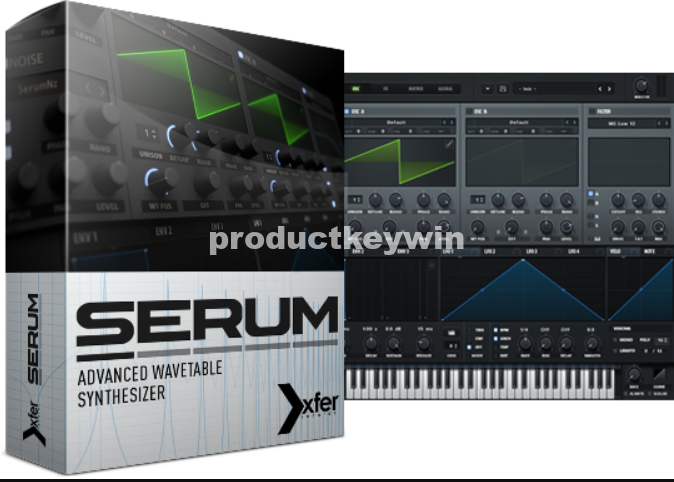 Xfer Serum 1.245 Crack VST Serial Number Free Download 2019