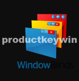 WindowBlinds 10.83 Crack Product Key Generator 2019 {full}